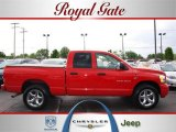 2006 Flame Red Dodge Ram 1500 Sport Quad Cab 4x4 #29433932