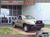 2007 Desert Sand Mica Toyota Tacoma Regular Cab #29434070