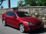 2008 Matador Red Mica Lexus IS 250 #29438886
