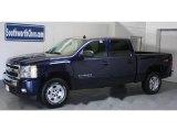 2010 Imperial Blue Metallic Chevrolet Silverado 1500 LT Crew Cab 4x4 #29439232
