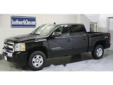 2010 Black Chevrolet Silverado 1500 LT Crew Cab 4x4 #29439233