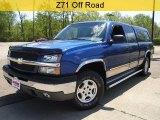 2003 Arrival Blue Metallic Chevrolet Silverado 1500 Z71 Extended Cab 4x4 #29438900