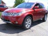 2006 Sunset Red Pearl Metallic Nissan Murano SL AWD #29438751