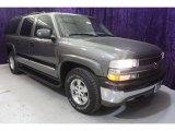 2001 Medium Charcoal Gray Metallic Chevrolet Suburban 1500 LS #29439059