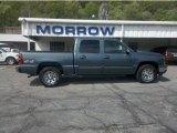 2006 Blue Granite Metallic Chevrolet Silverado 1500 LS Crew Cab 4x4 #29438929
