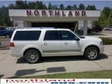 2007 White Chocolate Tri-Coat Lincoln Navigator L Ultimate 4x4 #29438951