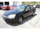 2005 Black Chevrolet Malibu Sedan #29439342