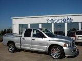 2005 Bright Silver Metallic Dodge Ram 1500 SRT-10 Quad Cab #29438964