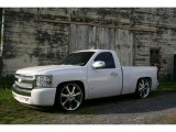 2008 Summit White Chevrolet Silverado 1500 LS Regular Cab #29439143