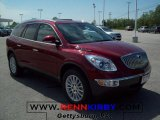 2010 Red Jewel Tintcoat Buick Enclave CXL #29439195