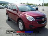 2010 Cardinal Red Metallic Chevrolet Equinox LT AWD #29439198