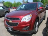 2010 Cardinal Red Metallic Chevrolet Equinox LT #29483863