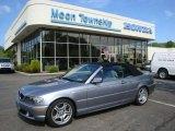 2005 Silver Grey Metallic BMW 3 Series 330i Convertible #29483533