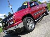 2006 Sport Red Metallic Chevrolet Silverado 1500 LT Extended Cab 4x4 #29483262