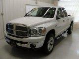 2007 Bright White Dodge Ram 1500 SLT Quad Cab 4x4 #29483912