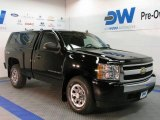2008 Black Chevrolet Silverado 1500 LS Regular Cab 4x4 #29483799