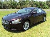 2010 Crimson Black Nissan Maxima 3.5 SV Premium #29483926