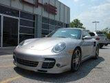 2008 GT Silver Metallic Porsche 911 Turbo Coupe #11890