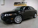 2008 Brilliant Black Audi A4 2.0T Special Edition quattro Sedan #29536311