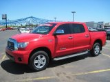 2007 Radiant Red Toyota Tundra Limited CrewMax 4x4 #29536617