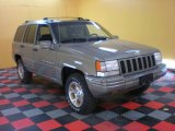 1996 Charcoal Gold Satin Jeep Grand Cherokee Limited 4x4 #29536632