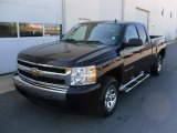2008 Black Chevrolet Silverado 1500 Work Truck Extended Cab #29536837