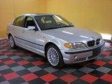 2003 Titanium Silver Metallic BMW 3 Series 330xi Sedan #29536638