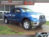 2008 Blue Streak Metallic Toyota Tundra Double Cab 4x4 #29536700