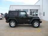 2010 Black Jeep Wrangler Sport 4x4 #29536394