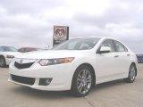 2009 Premium White Pearl Acura TSX Sedan #29536403