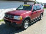 2003 Redfire Metallic Ford Explorer XLT 4x4 #29536434