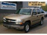 2005 Sandstone Metallic Chevrolet Tahoe LS 4x4 #29536439