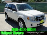 2009 Oxford White Ford Escape XLS #29536461
