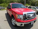 2010 Vermillion Red Ford F150 XLT SuperCrew #29536479