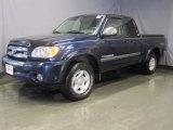 2003 Stratosphere Blue Mica Toyota Tundra SR5 Access Cab 4x4 #29536541
