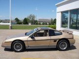 1986 Pontiac Fiero Gold Metallic