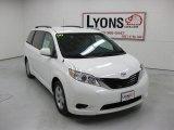 2011 Super White Toyota Sienna LE #29599482