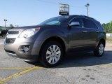 2010 Mocha Steel Metallic Chevrolet Equinox LT #29599917