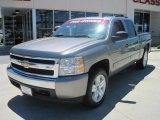 2007 Graystone Metallic Chevrolet Silverado 1500 LT Crew Cab #29600110