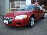 2005 Chrysler Sebring Deep Red Pearl