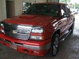 2007 Victory Red Chevrolet Silverado 1500 Classic LT Crew Cab 4x4 #29599661