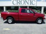 2010 Inferno Red Crystal Pearl Dodge Ram 1500 SLT Quad Cab 4x4 #29599839