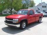 2001 Victory Red Chevrolet Silverado 1500 Regular Cab #29600291