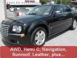 2005 Brilliant Black Crystal Pearl Chrysler 300 C HEMI AWD #29599518