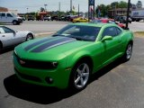2010 Synergy Green Metallic Chevrolet Camaro LT Coupe Synergy Special Edition #29600305