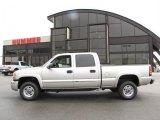 2005 Silver Birch Metallic GMC Sierra 2500HD SLT Crew Cab 4x4 #29600200