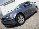 2003 Steel Blue Metallic BMW 3 Series 325xi Sedan #29599528