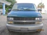 2000 Dark Forest Green Metallic Chevrolet Astro LS Passenger Van #29600216