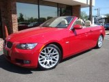 2008 Crimson Red BMW 3 Series 328i Convertible #29599699
