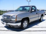 2003 Light Pewter Metallic Chevrolet Silverado 1500 Regular Cab #29600236